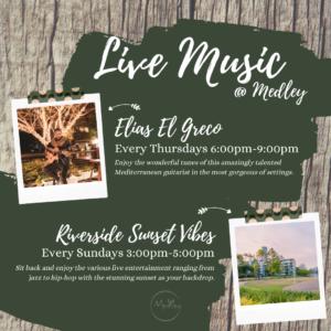 Live Music - Every Thursdays & Sundays