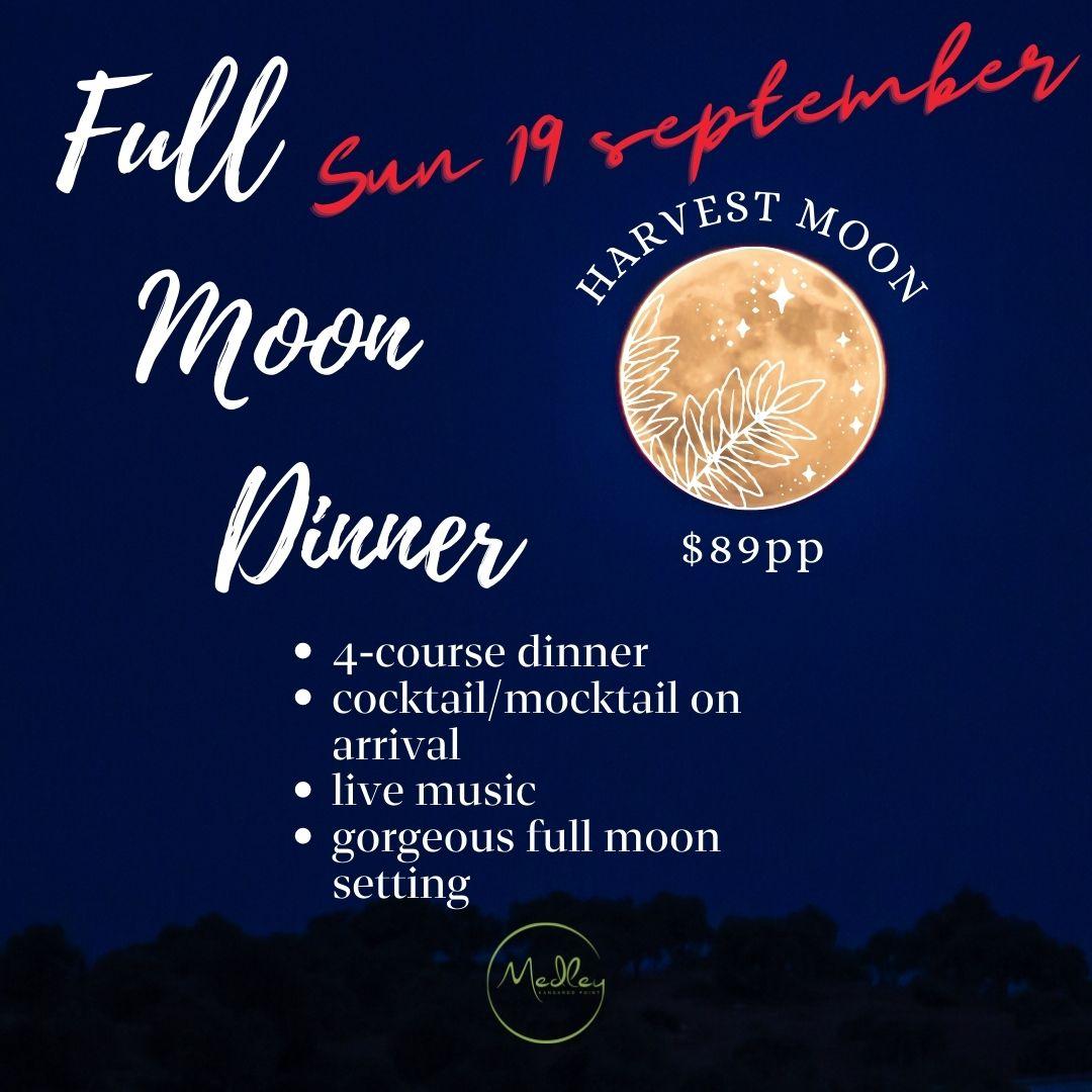 Full Moon Dinner - September 2021