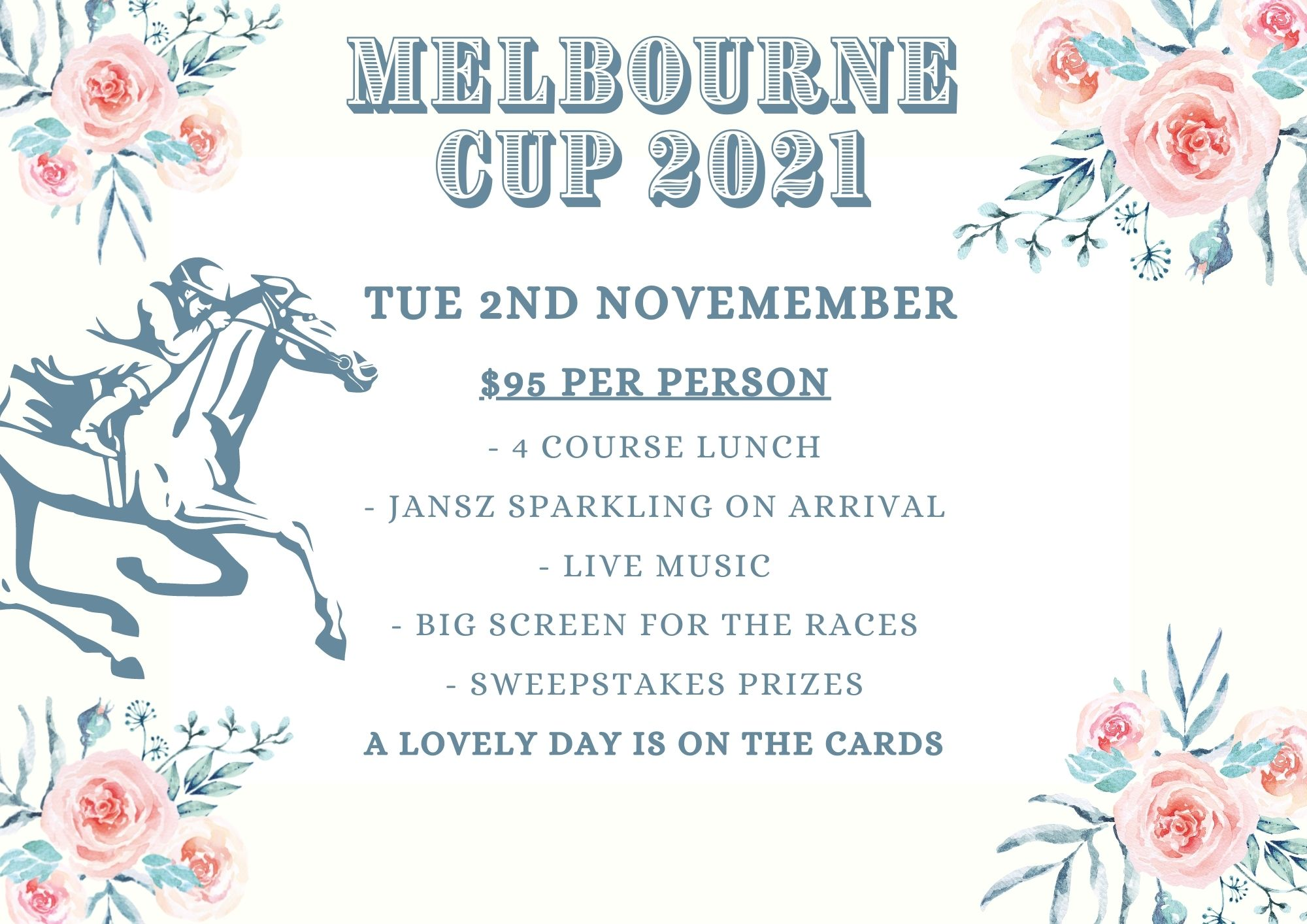 Medley Melbourne Cup Carousel 2021